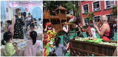 The Faculty of Education, East China Normal University Organized a One-week Students Exchange Program for the Department of Child, Youth and Family Studies, College of Education and Human Sciences, University of Nebraska - Lincoln