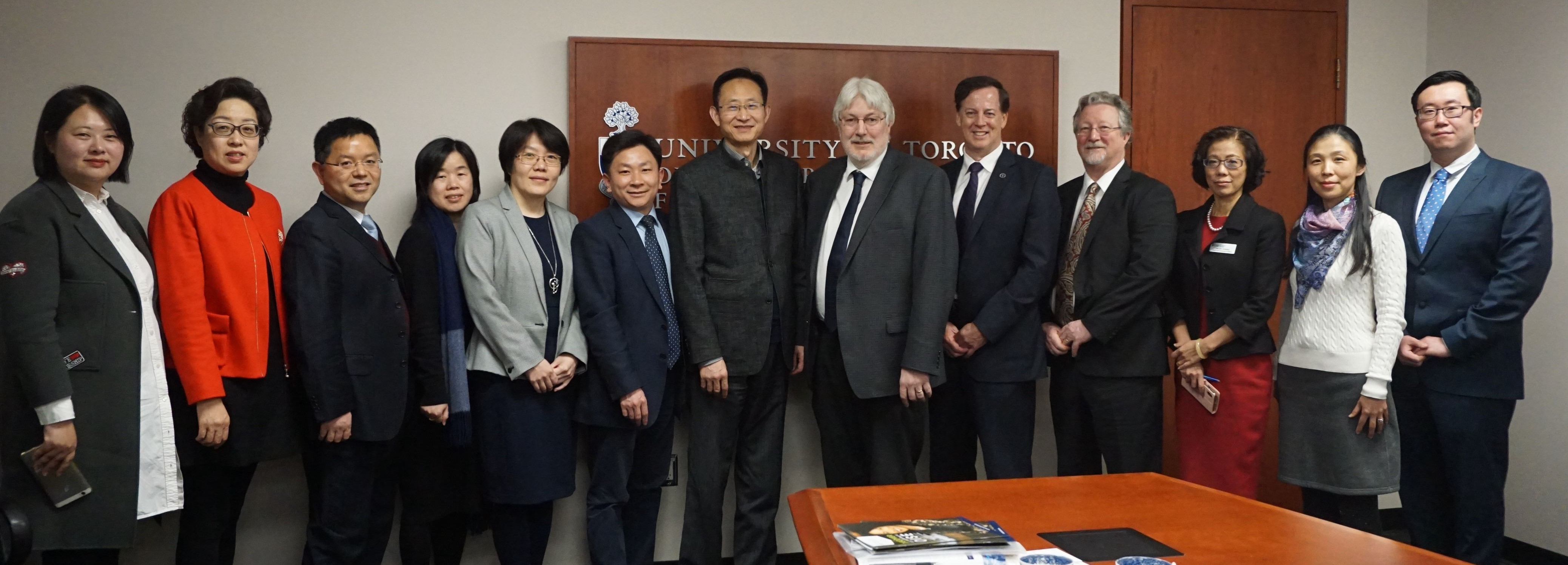 Delegation from the Faculty of Education, ECNU Visits Canadian and British Universities