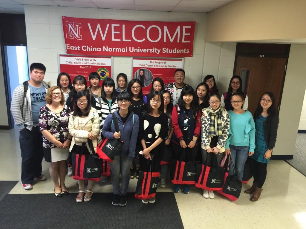 第四届教育学部交流团队抵达美国内布拉斯加大学