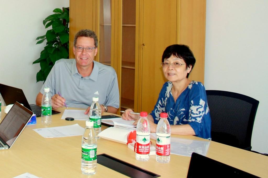 奥地利Karl-Franzens 大学Catherine Walter-Laager教授与瑞士苏伊士大学Manfred Pfiffner教授来教育学部学前系短访