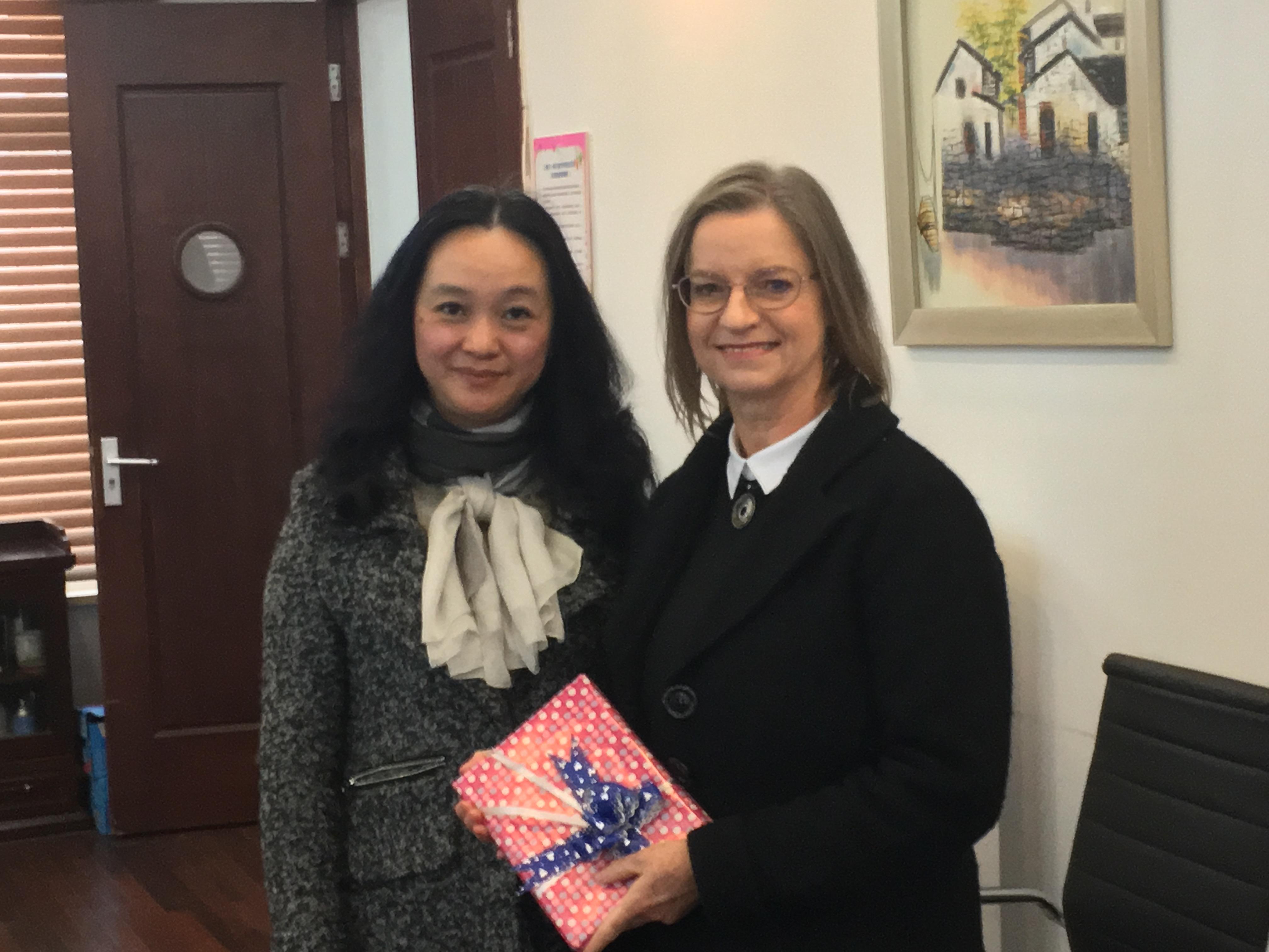 教育学部外聘教师牛津大学 Janette Ryan博士应邀访问上海师范大学第一附属小学