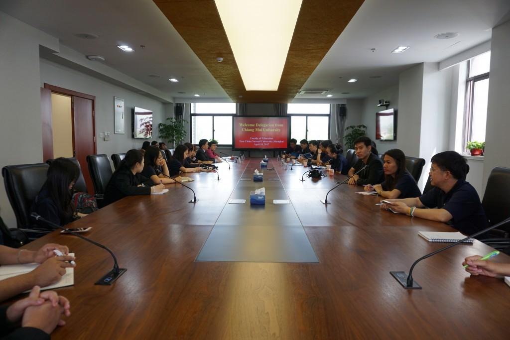 泰国清迈大学教育学院师生来访教育学部