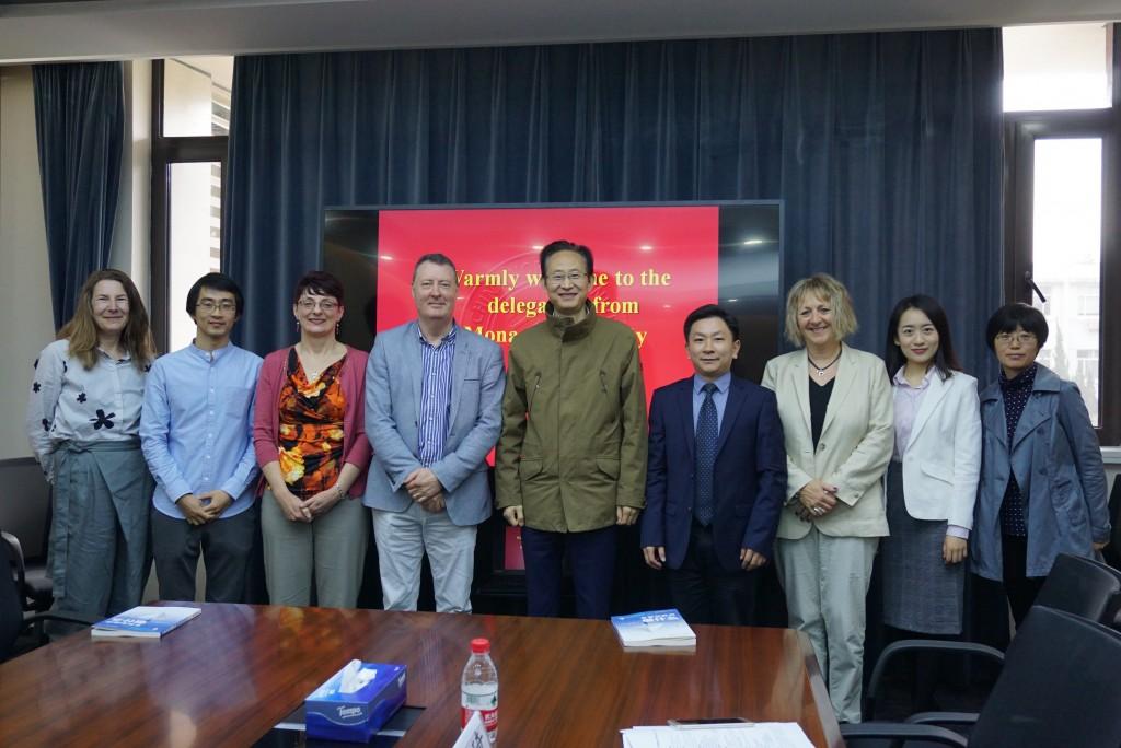 澳大利亚莫纳什大学代表团访问教育学部