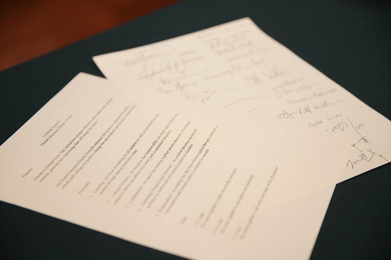 首届全球教育学院院长论坛(GEDF)签署联合宣言