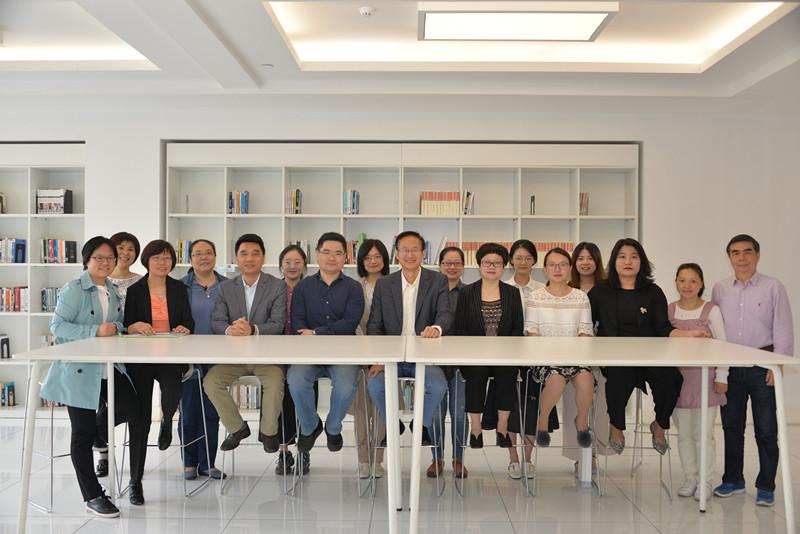有朋自远方来丨北京师范大学教育学部副部长王晨一行来访