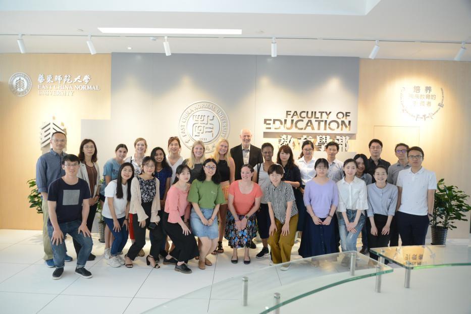 国际学术交流周 | 与伊利诺伊大学香槟分校教育学院活动顺利举办