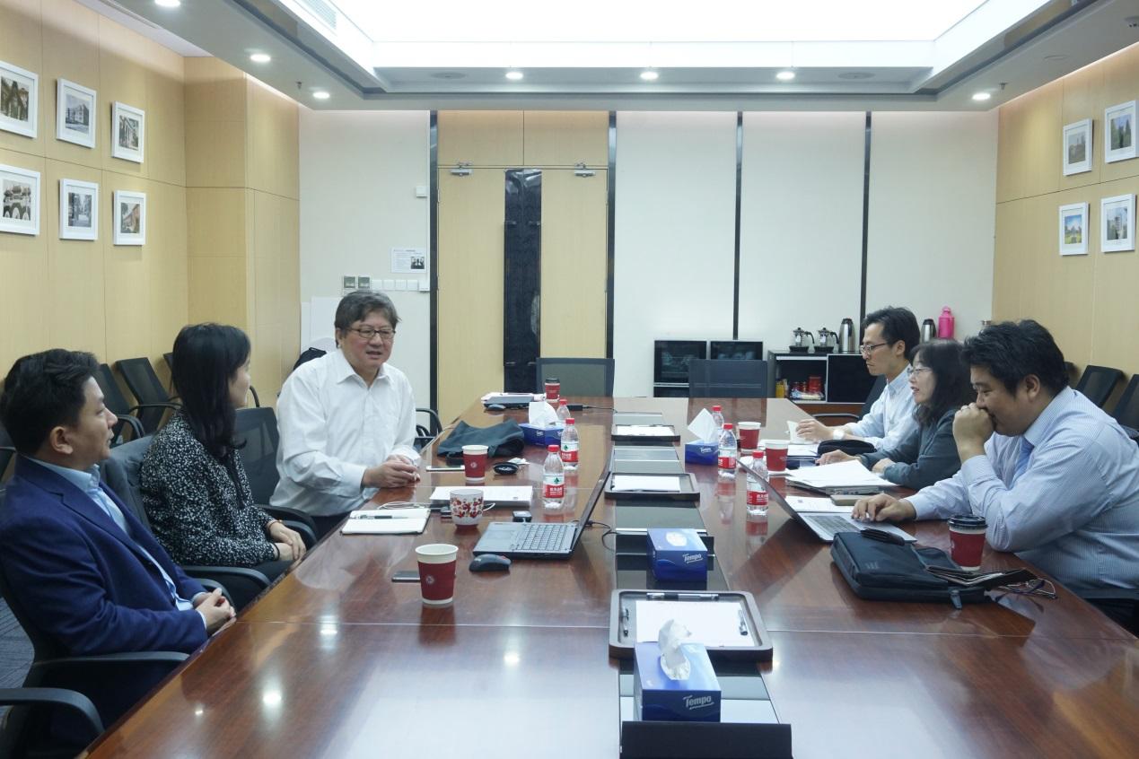 九州大学教育学部代表团访问教育学部
