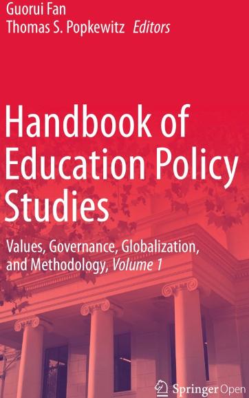 范国睿教授、Thomas S. Popkewitz教授联合主编的《教育政策研究手册》出版发行